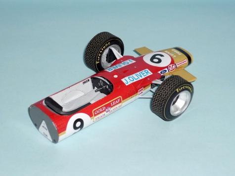 Lotus 49 - Jackie Oliver - GP V. Británie 1968