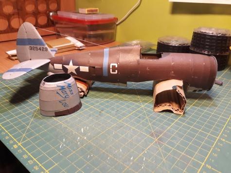 P-47D 20 RA Thunderbolt