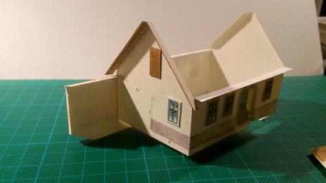 papírová devítka - prvotina
