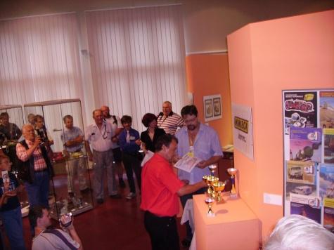 Papírové léto III Hradec Králové a Mistrovství ČR v Miniboxech 1:300 4.8.2007