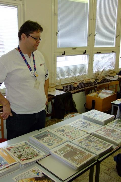 Papírový kalich Litoměřice 16.1.2010