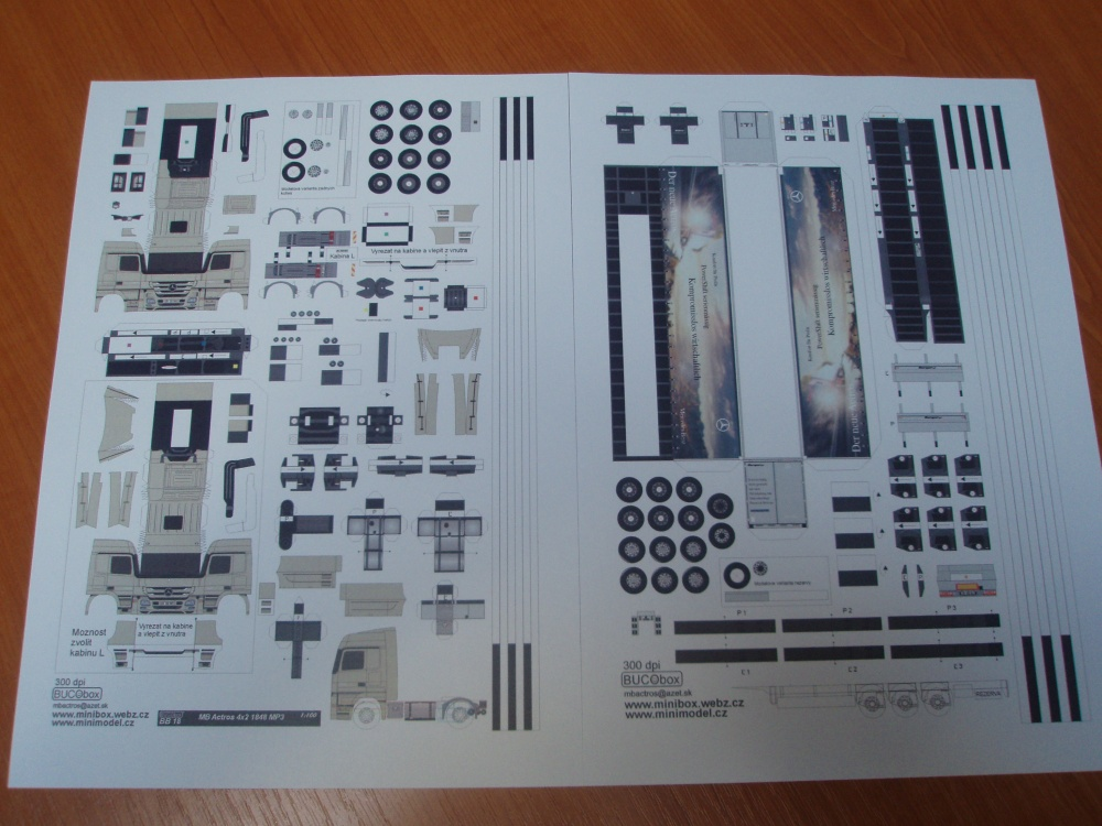 Paralelní stavba 2011 - MB Actros s navesem
