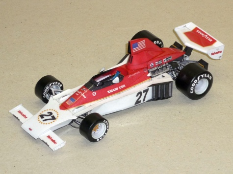 Parnelli VPJ 04 - Mario Andretti - Francie 1975