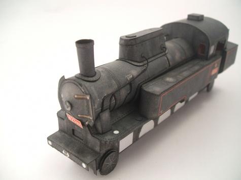 Parní lokomotiova 423.001 velkej bejček