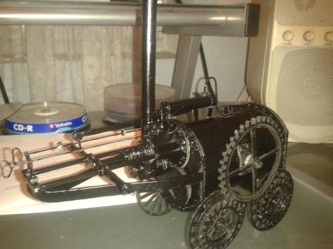 Parní lokomotiva - Invicta
