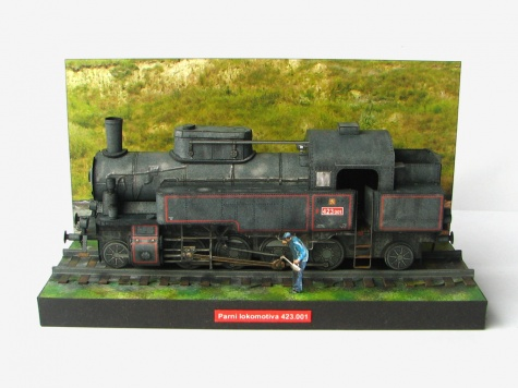Parní lokomotiva 423.001