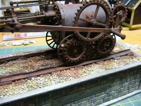parní lokomotiva Invicta