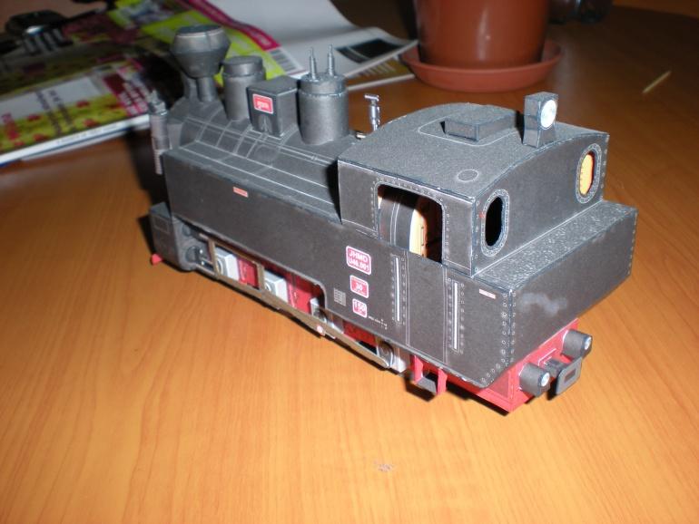 Parní lokomotiva U46.001 Resita