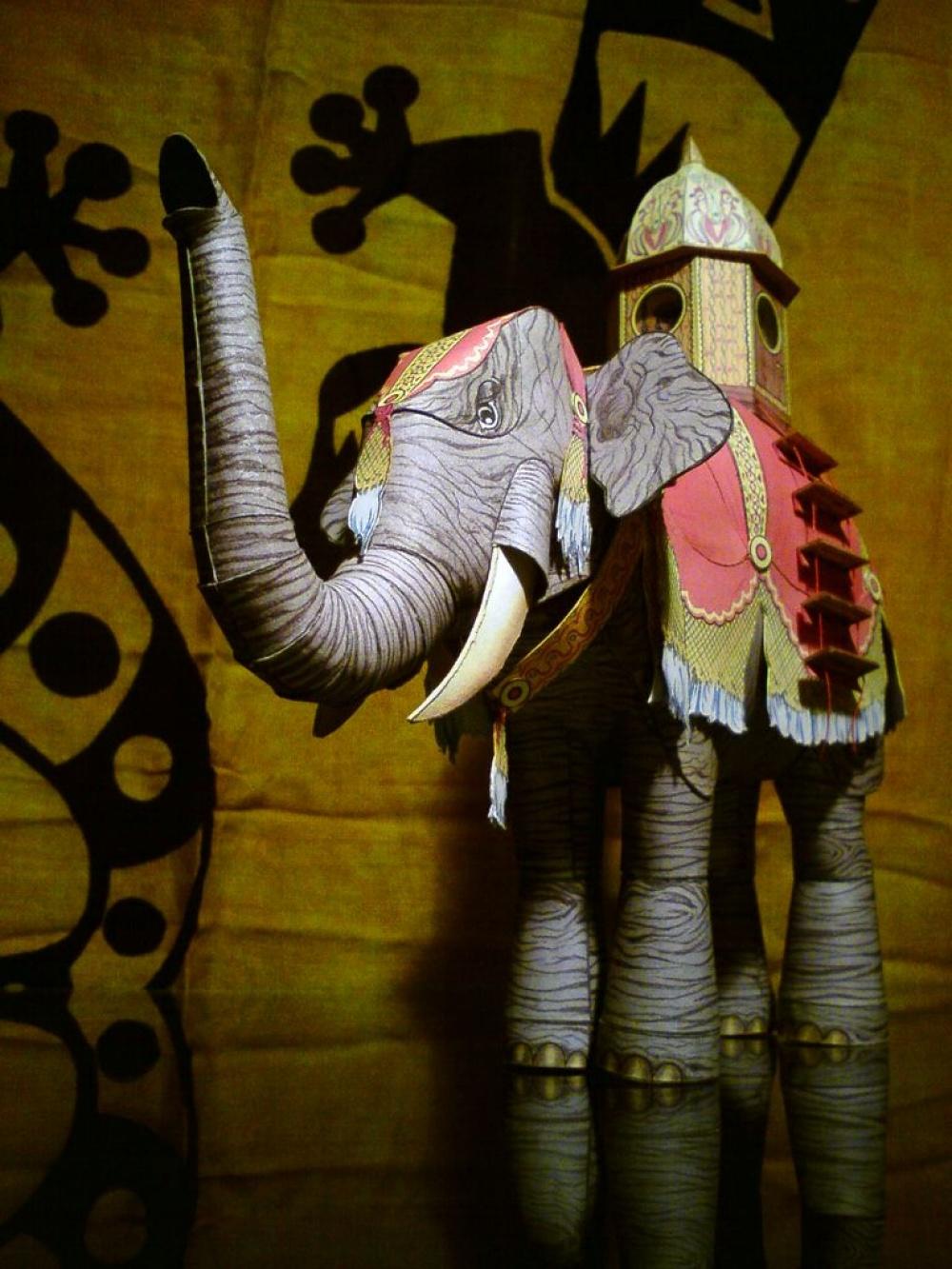 Parní slon (vynález J. Verna)
