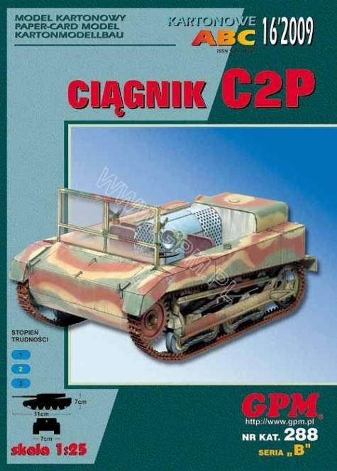 pásový tahač C2P