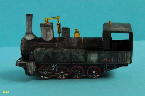 Parní lokomotiva Vc 400.1
