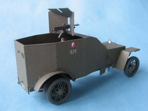 Peugeot 1918  obrněnec