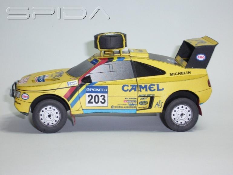 Peugeot 405 t 16 Dakar 1990