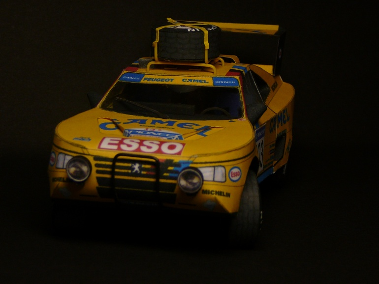 Peugeot 405 Turbo 16 Dakar 1990 by Rybak