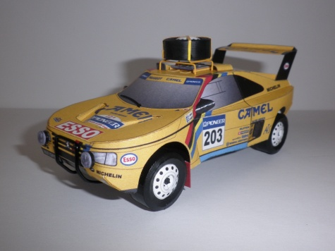 Peugeot 405 turbo 16 Dakar 1990