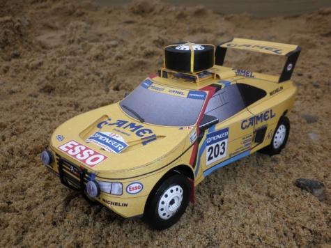 Peugeot 405 turbo 16 Dakar 1990