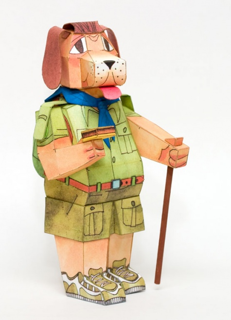 Pionýrský pes – turista