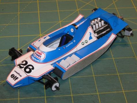 Ligier JS11, J. Laffite, GP USA-Long Beach 1979  - beta