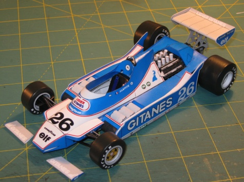 Ligier JS11, J. Laffite, GP USA-Long Beach 1979  - beta