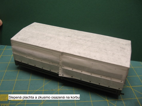 Plachta na T 815 VVN - RipperWorks