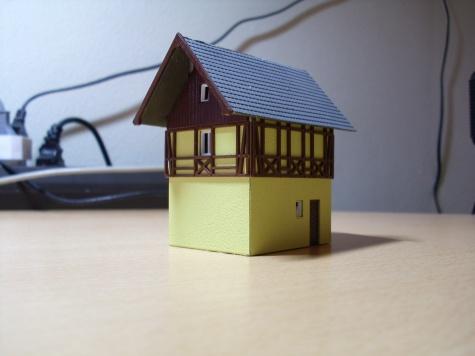 Plastové domy z kolejiště