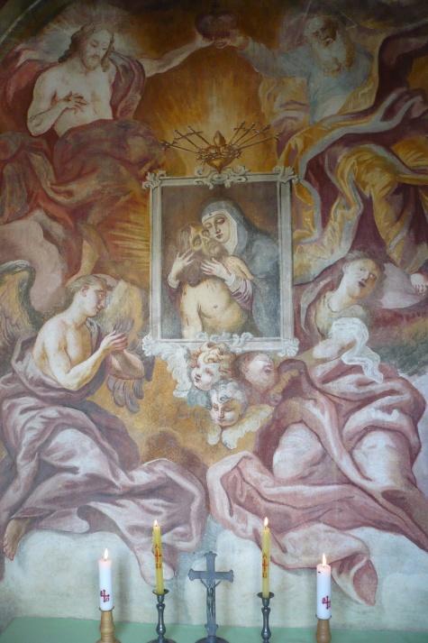 Plešnice, kaple Nejsvětější Trojice