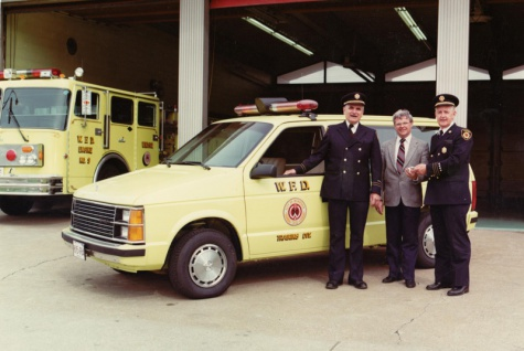 Plymouth Voyager - Windsor Fire Dept (1984)