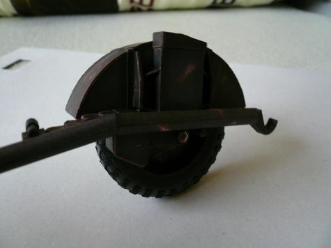 Podvozek German Flak 38