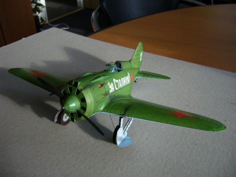 Polikarpov I-16 model 24
