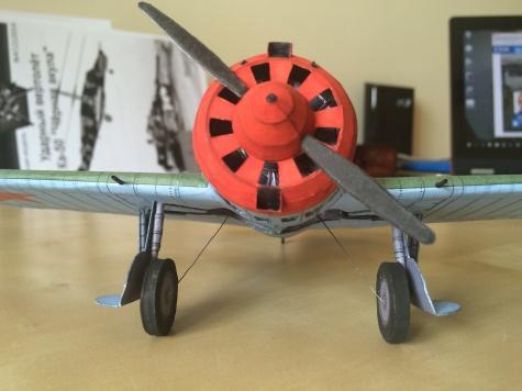 Polikarpov I-16 type 10