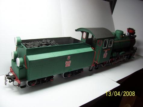Polská parní lokomotiva Px 29 z roku 1929