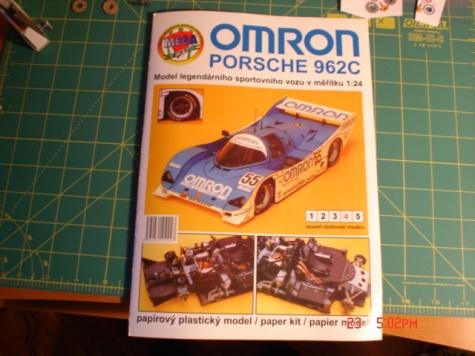 Porsche 962C Omron