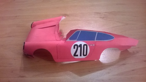 Porsche 911S (Monte Carlo 1968) Vic Elford, David Stone