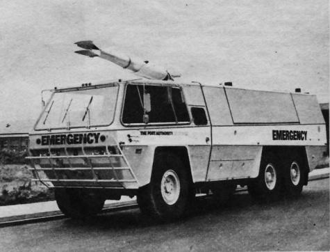 Požární vůz Pyrene