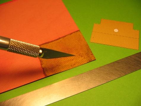 Práce s laser doplňky