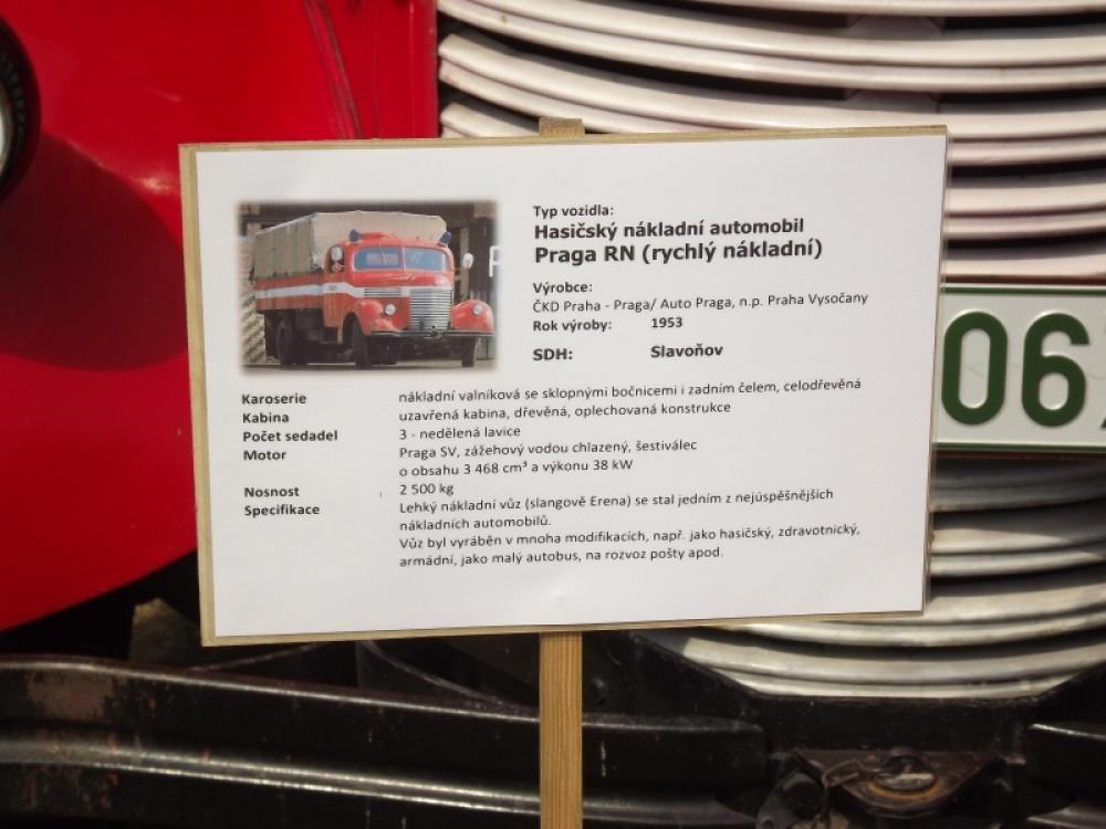Praga RN - valník hasičský - originál