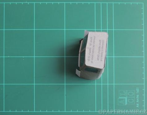 Praga V3S - správné tvarování kabiny