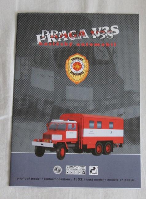 Praga V3S Hasicska skrina