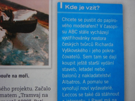 Propagace v novinach