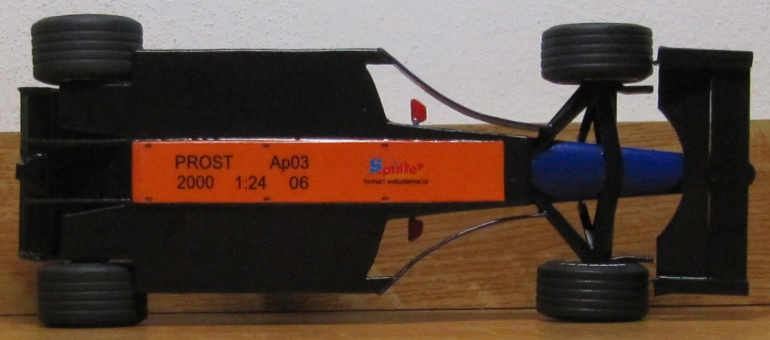 Prost AP03, J.Alesi 2000