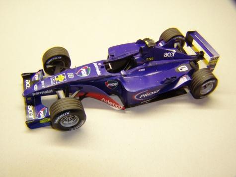 Prost AP04, 2001, T. Enge