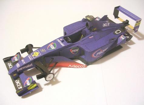 Prost AP04, 2001 Tomáš Enge