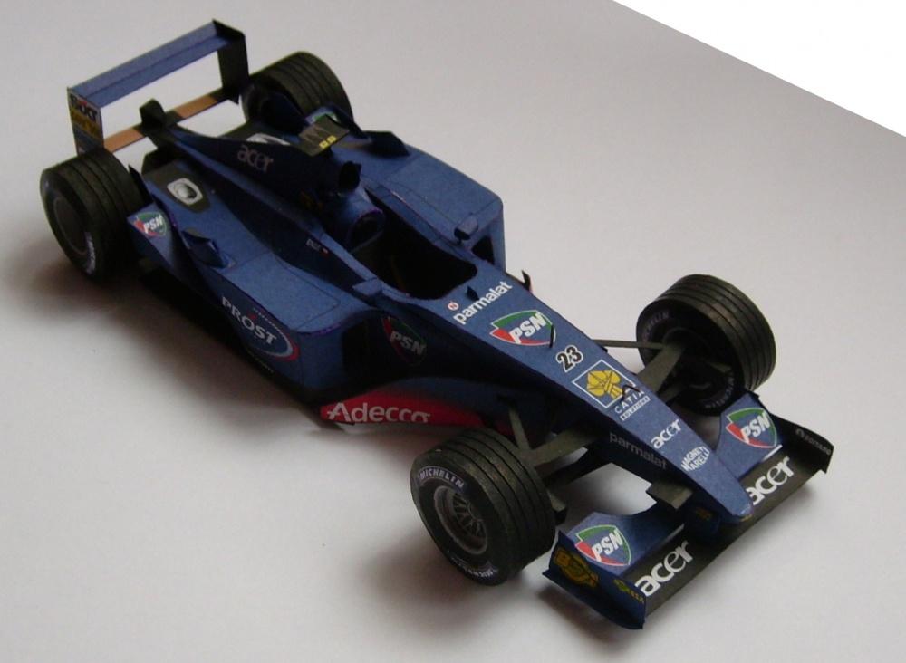 Prost AP04, Tomáš Enge, 2001