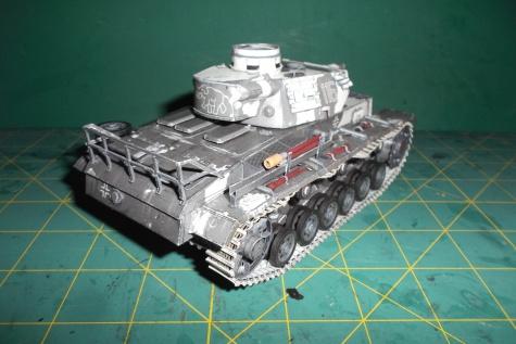Pz-III Ausf N,testovací lepení