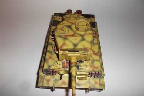PzKpfw VI Tiger Ausf hibrid , dokončování