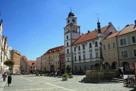 Radnice Třeboň
