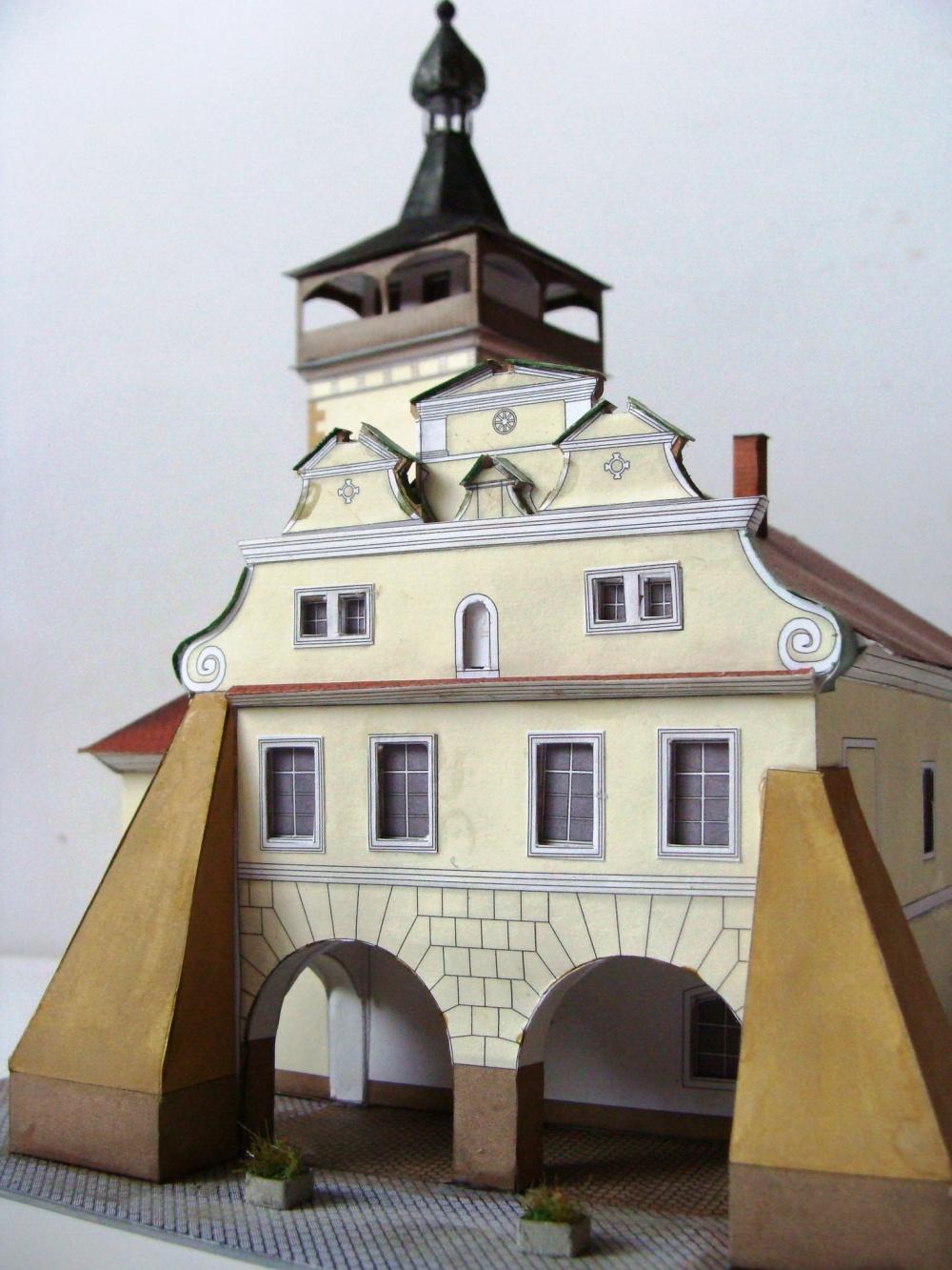 Radniční věž Dobrovice