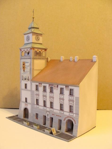 radniční věž Třeboň