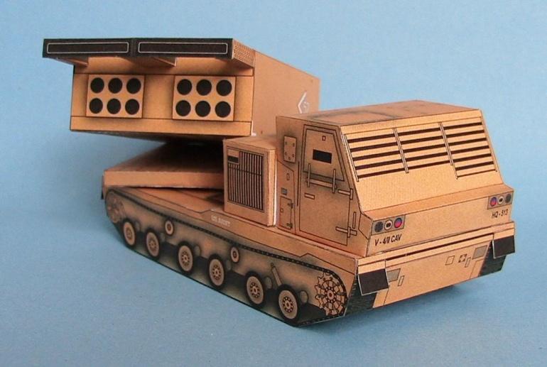 Raketomet MLRS M-270