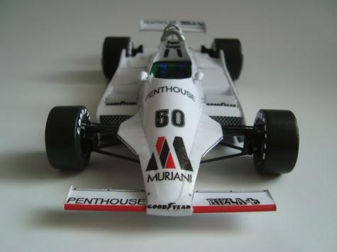 RAM-Williams FW 07/3T - 1980 - Rupert Keegan